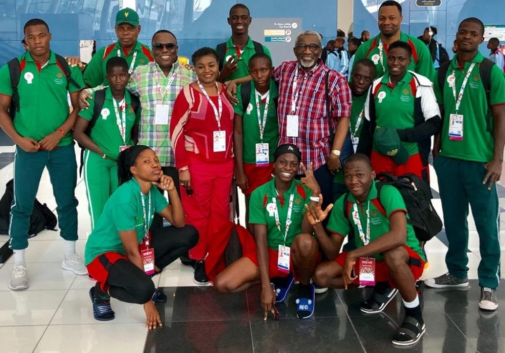 pcl. supports Nigeria in special olympics 1